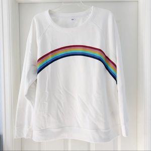 Old Navy Rainbow Sweatshirt Size XL